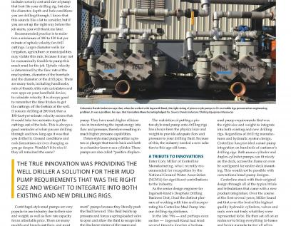 National Driller Aug 2018 Mud Pump Article